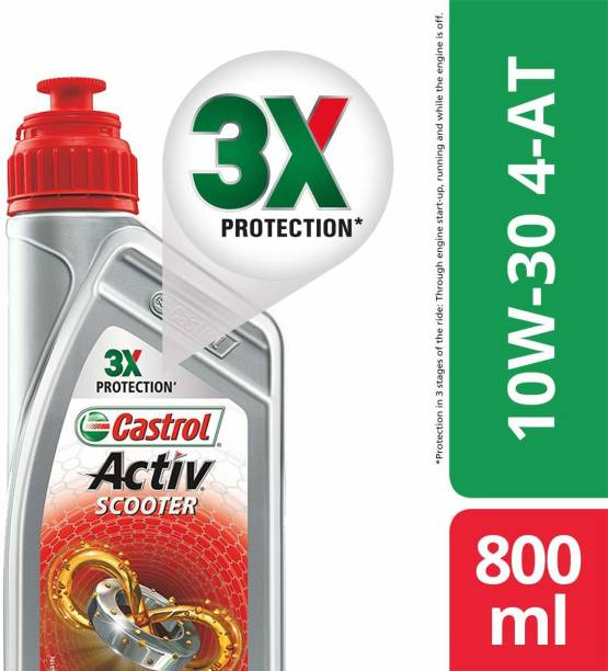 Castrol 10W-30 4-AT Synthetic Blend Engine Oil