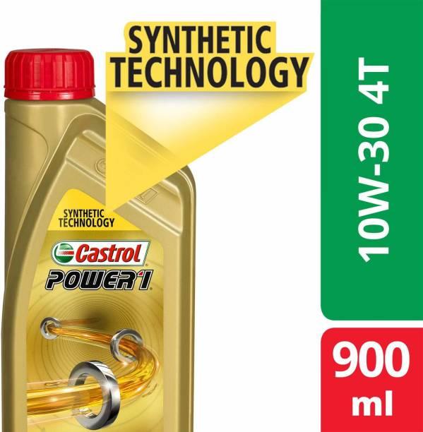 Castrol 10W30 API SL POWER1 4T Full-Synthetic Engine Oil