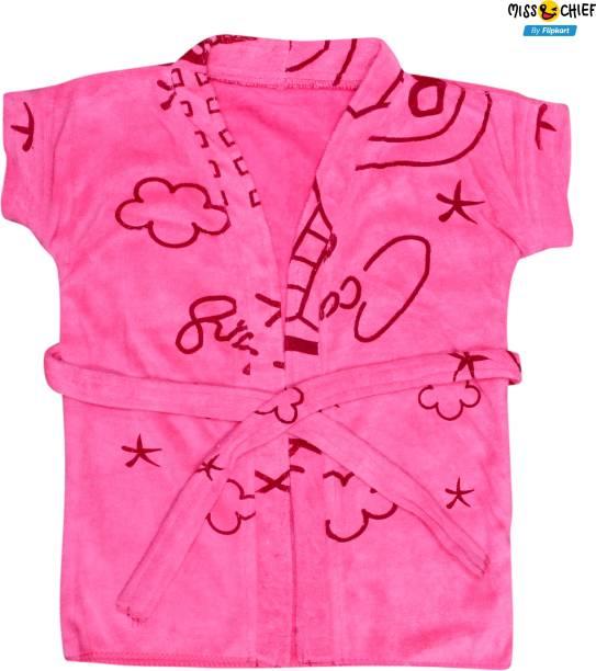 Miss & Chief Pink Medium Bath Robe