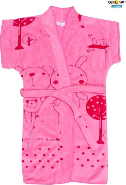 Miss & Chief Pink Large Bath Robe