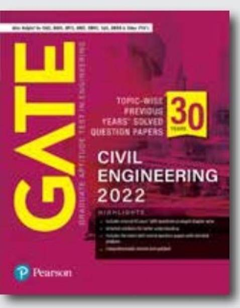GATE Topic-wise Previous Years' Solved Question Papers Civil Engineering 2022