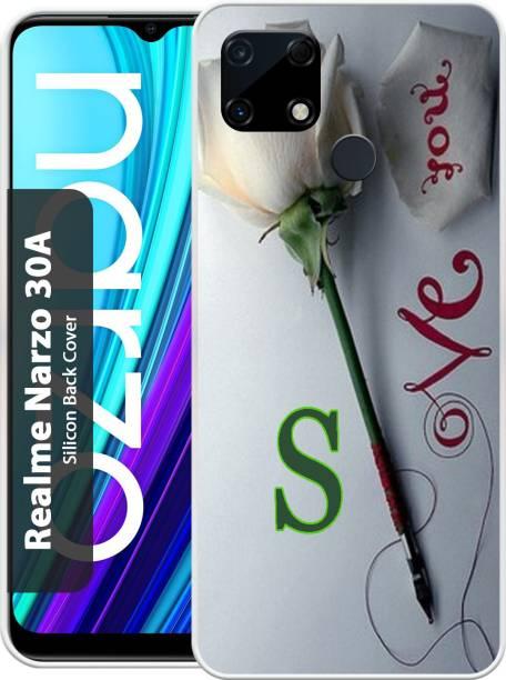 Smart Cases Back Cover for Realme Narzo 30A