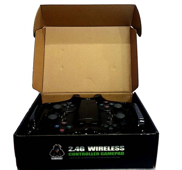 Wireless Video Game - 2.4G Gaming Controller with Game Stick (2 Controller, 1 Game Stick) Limited Edition