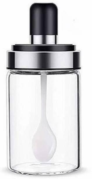 OSWORLD SPOON_JAR04  - 250 ml Glass Cookie Jar