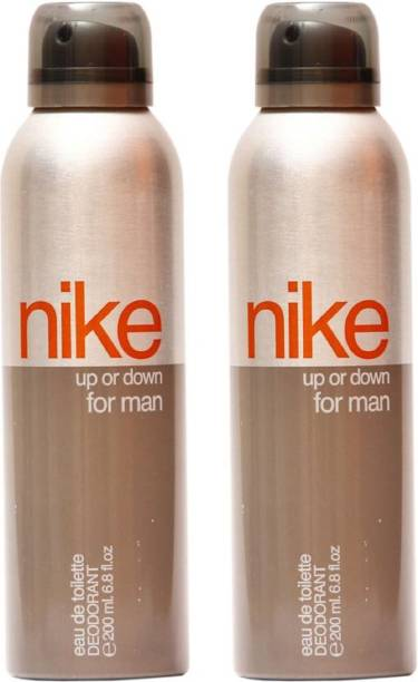 NIKE Up Or Down Pack Of 2 Deodorant Spray  -  For Men