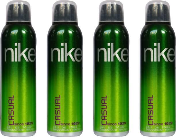 NIKE Casual (Pack of 4) Deodorant Spray  -  For Men