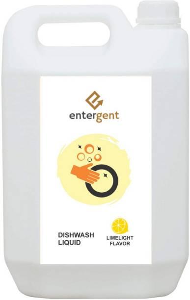 ENTERGENT Dishwash Gel liquid 5Liter Dish Cleaning Gel