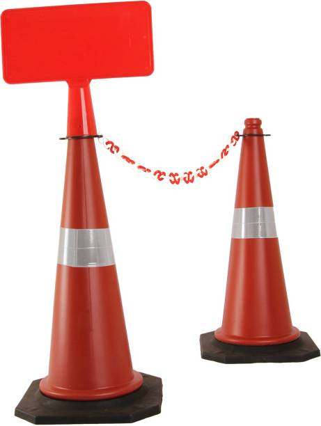 Ladwa Plain cones With Signplate - Pack of 2 Emergency Sign