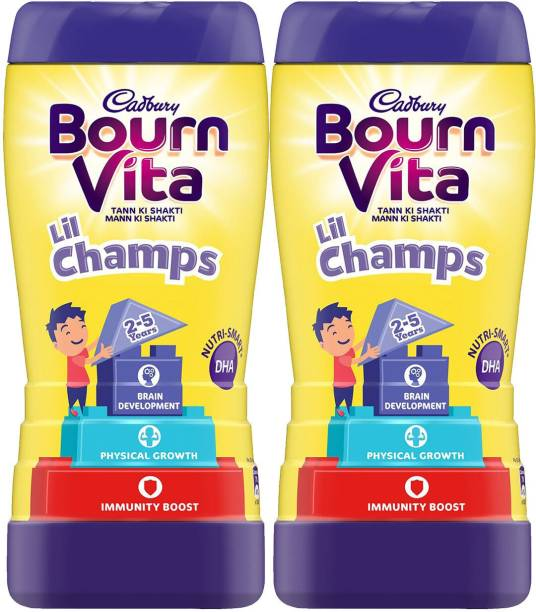 Cadbury Lil Champs 500 G (Pack of 2) Nutrition Drink