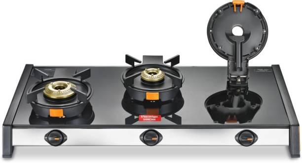 Prestige Svachh GSTV-03 Glass Manual Gas Stove