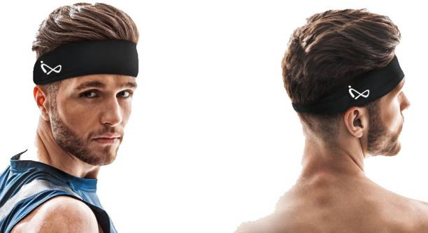 Infix Advanced Pro Sports Headband for Men and Women - Yoga, Sports, Climbing, Motorcycling, Couple Daily, Party, Basketball, Cycling and Running Head Band