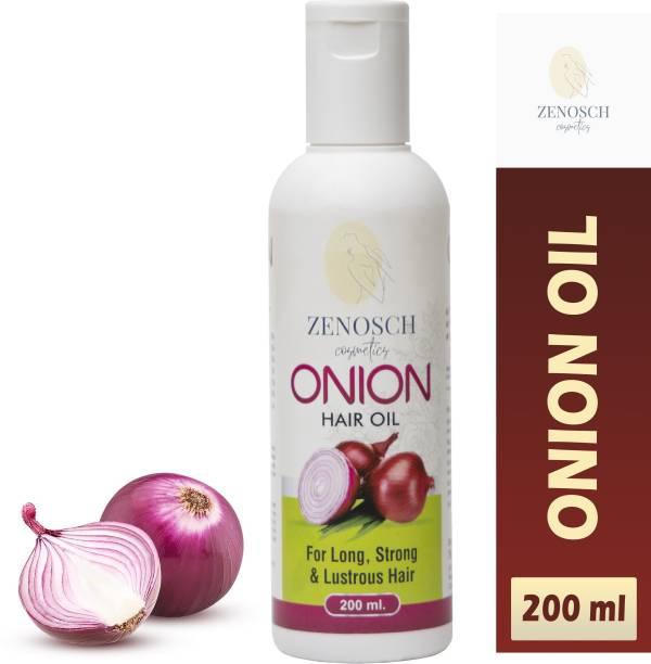 Zenosch Onion Hair Oil for long strong and lustrous hair Hair Oil