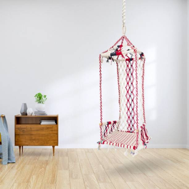 Curio Centre Maharaja Swing with Accessories Cotton Large Swing