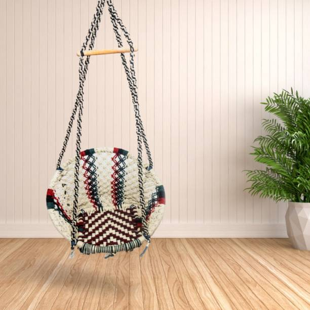 Curio Centre Round Modern Hanging Swing Chair Cotton Large Swing