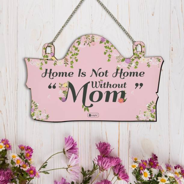 Indigifts Wooden Gifts for Mom Name Plate