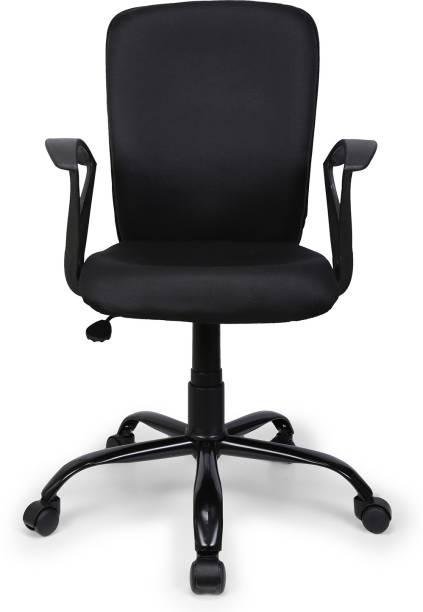 FURNICOM CHAIRS Fabric Office Arm Chair