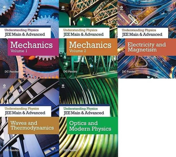 Understanding Physics Sets Of 5 Books For JEE (Main & Advance ) Mechanics 1 & Mechanics 2 + Electricity & Magnetism + Optics & Modern Physics + Waves & Thermodynamics Exam -2022 D C PANDEY