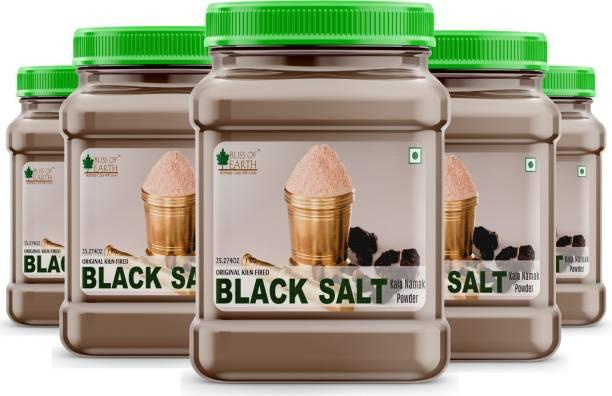 Bliss of Earth Authentic Kiln Fired Black Salt, Kala Namak for Healthy Cooking (5x1kg) Pack Of 5 Black Salt