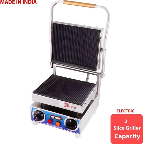 kiran 2 Slice Electric Sandwich Maker Toast