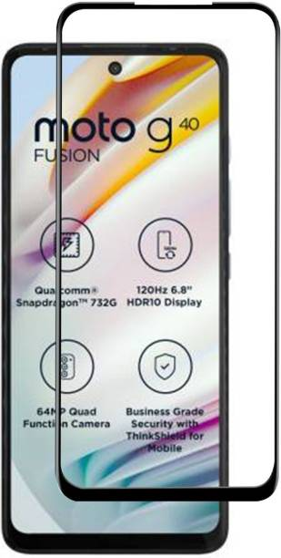 Power Edge To Edge Tempered Glass for MOTOROLA G40 Fusion