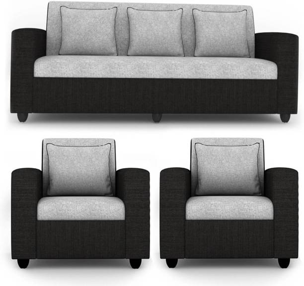 Choice Trade Fabric 3 + 1 + 1 Grey Sofa Set