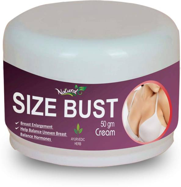 Natural Size Bust Women Breast Cream For Breast Growth Breast Tightening softening 100% Ayurvedic