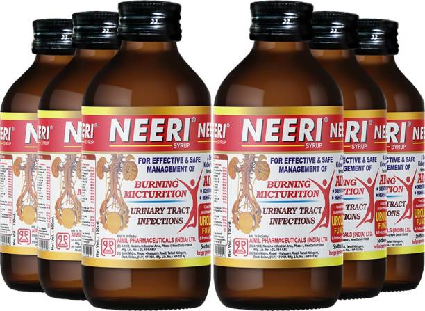 AIMIL NEERI Syrup for Kidney Health   Useful in Urinary Tract Infections (UTI) (Pack of 6)