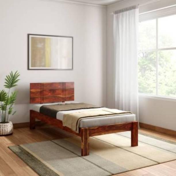MEHAR Solid Wood Single Bed