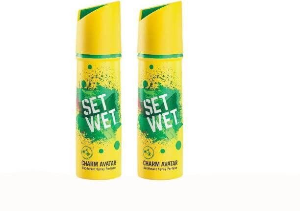 SET WET Charm Avatar Deodorant Deodorant Spray  -  For Men