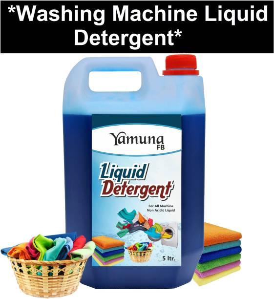 yamuna fb 5 liter washing machine Liquid Detergent Laundry Front Load/Top Load/Bucket Wash (5 liter) Liquid Detergent Dishwash Bar