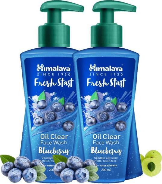 HIMALAYA FRESH START OIL CLEAR BLUEBERRY FACE WASH 200ML X 2 Face Wash
