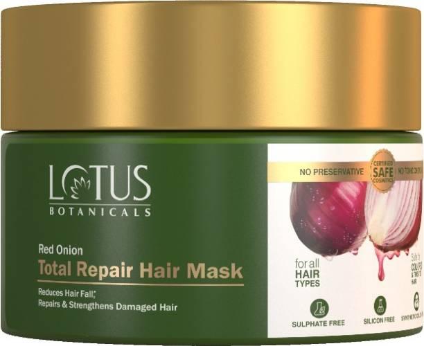 Lotus Botanicals Red Onion Total Repair Hair Mask - 200g