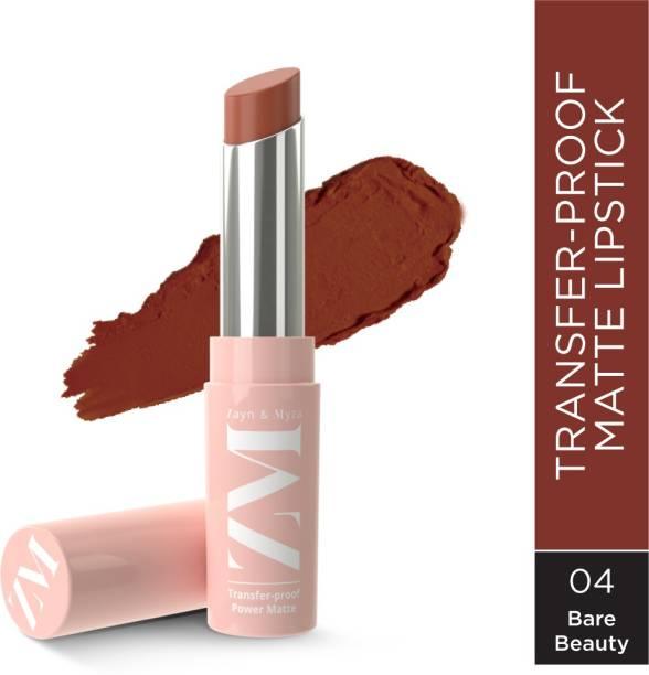 ZM Zayn & Myza Transfer-Proof Power Matte Lipstick