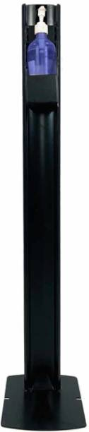 METSMITH Safety Plus 500 ml Sanitizer Stand, Liquid, Gel, Lotion Dispenser