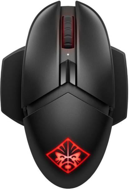 HP OMEN Photon Wireless Gaming Custom RGB Lighting Wireless Hybrid  Gaming Mouse  with Bluetooth