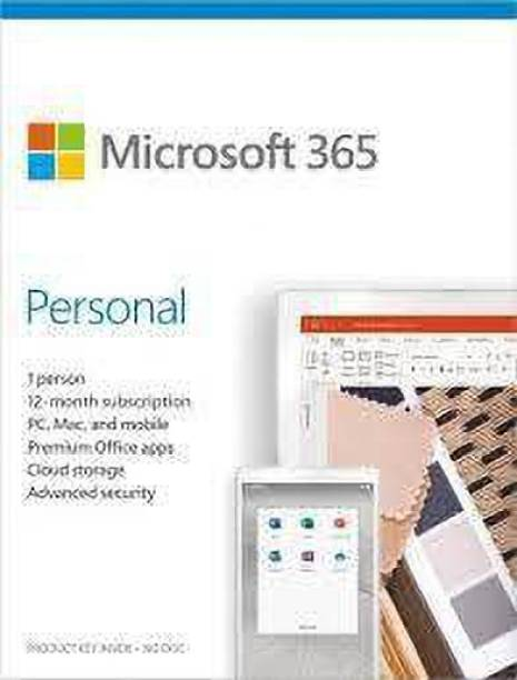 MICROSOFT M365 Personal 2019 Email delivery in 1 hour  12-Month Subscription, 1 person   Premium Office apps   1TB OneDrive cloud storage   Windows/Mac