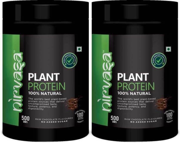 Nirvasa Plant Protein for Men & Women Plant-Based Protein