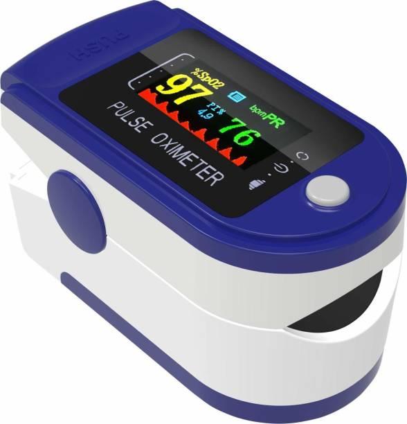 SMIC Finger Pulse Oxygen Meter, SPO2 Blood Oxygen Saturation, Pulse Rate (PR) with OLED Digital Display Pulse Oximeter