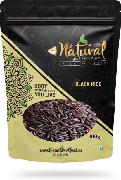 NTLNATURAL Black Rice Black Black Rice (Long Grain, Raw)