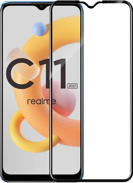 Knotyy Edge To Edge Tempered Glass for Realme C11 2021