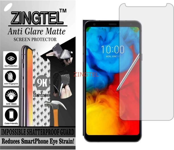 ZINGTEL Tempered Glass Guard for LG Q STYLUS ALPHA (Matte Flexible Shatterproof)