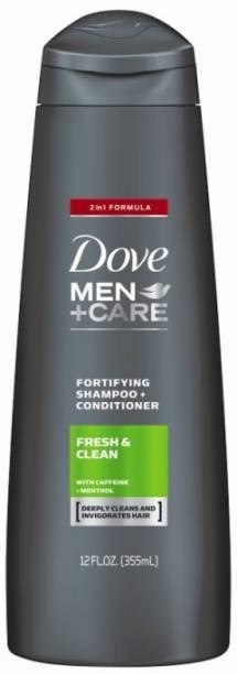 DOVE MEN+CARE FRESH & CLEAN IMPORTED SHAMPOO & CONDITIONER