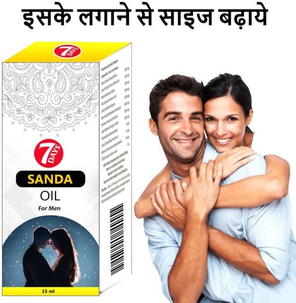 7 Days SANDHA Oil Ayurveda massage oil for men long time sex power for men