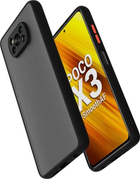 SoftTech Back Cover for Poco X3