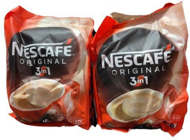 Nescafe 3 in 1 Coffee Beverage -30 Sachets Instant Coffee