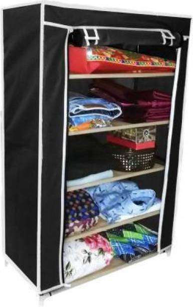 KOnline shoe stand and rack shelf Carbon Steel Collapsible Wardrobe