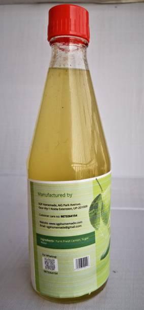 SGP Homemade - feel the originality Lemon Squash