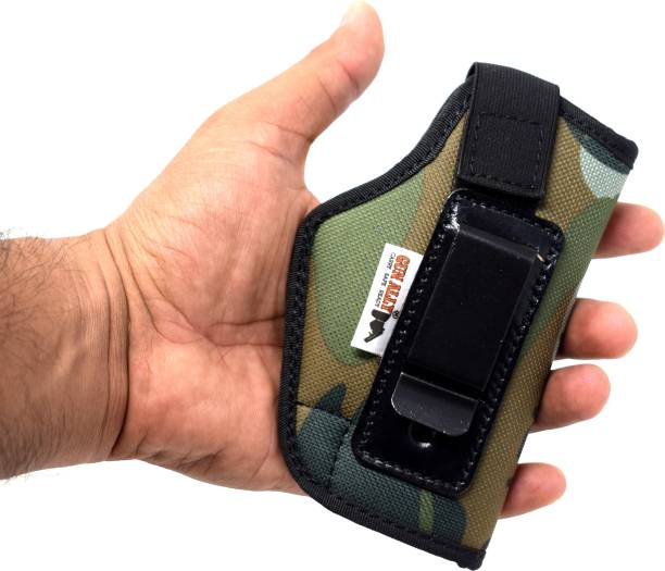 GunAlly Comfortable Concealed Carry IWB Holster 32 Pistol/Gun Cover Free Size