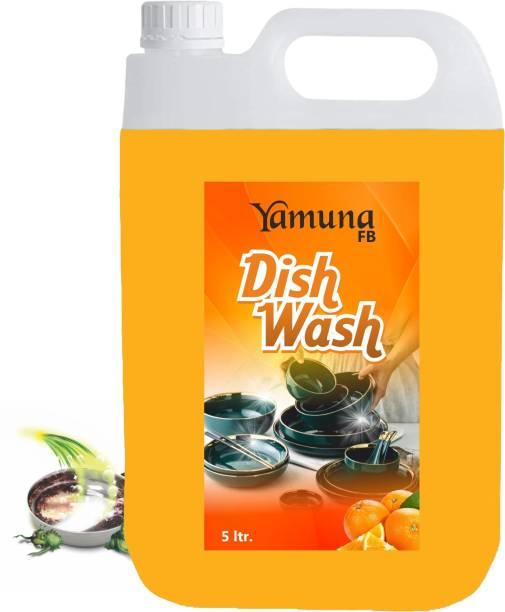 yamuna fb 5 liter orengr Dish_washing_bar Liquid Detergent ( 5 liter) Dishwash Bar