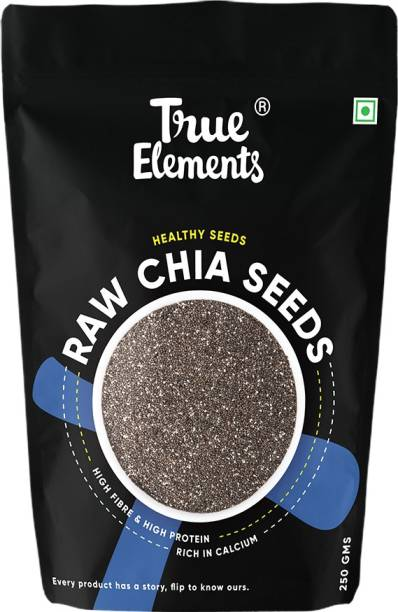True Elements Raw Chia Seeds, Healthy Seeds, Rich in Calcium